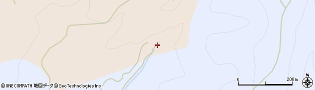 秋田県由利本荘市館(櫛引)周辺の地図
