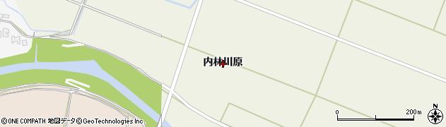 秋田県由利本荘市上野(内林川原)周辺の地図