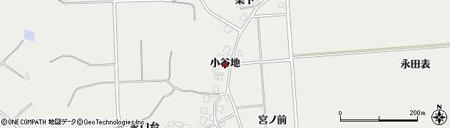 秋田県由利本荘市船岡(小谷地)周辺の地図