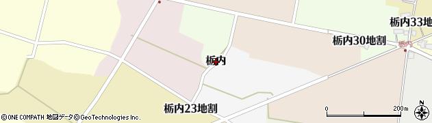 岩手県花巻市栃内周辺の地図