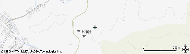 秋田県由利本荘市万願寺(八人森)周辺の地図