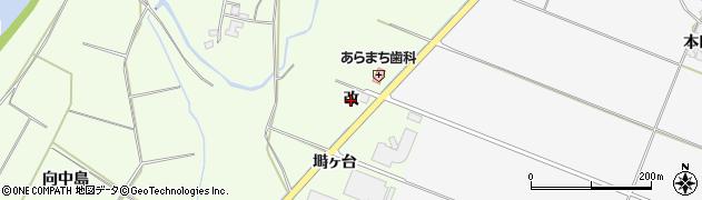 秋田県由利本荘市荒町(改)周辺の地図