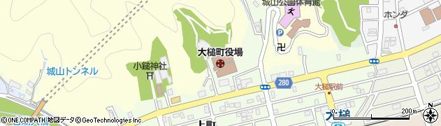 岩手県上閉伊郡大槌町周辺の地図