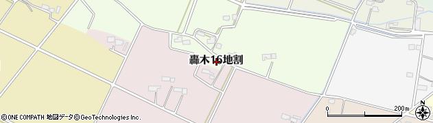 岩手県花巻市轟木第16地割周辺の地図