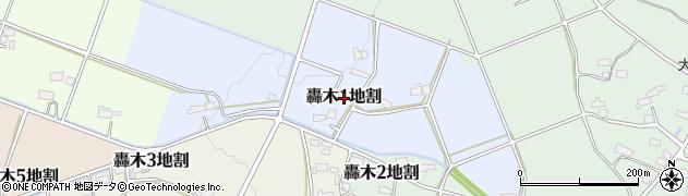 岩手県花巻市轟木第1地割周辺の地図
