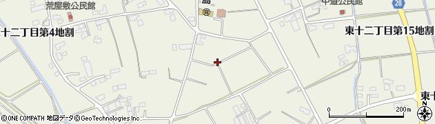 岩手県花巻市東十二丁目周辺の地図