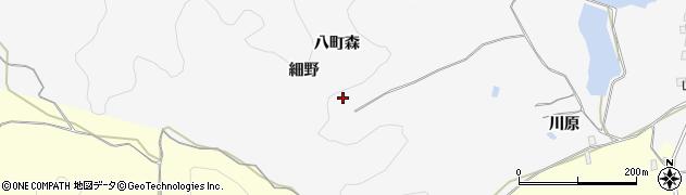 秋田県由利本荘市薬師堂(細野)周辺の地図