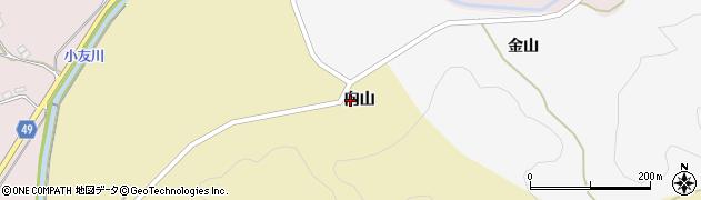 秋田県由利本荘市大沢(向山)周辺の地図