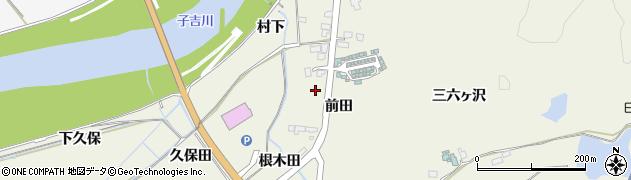 秋田県由利本荘市二十六木(前田)周辺の地図