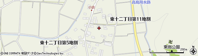 岩手県花巻市東十二丁目(第11地割)周辺の地図