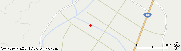 岩手県遠野市土淵町栃内(19地割)周辺の地図