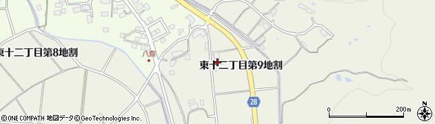 岩手県花巻市東十二丁目(第9地割)周辺の地図