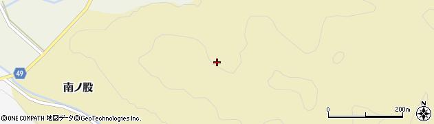 秋田県由利本荘市南ノ股(大熊ヶ沢)周辺の地図