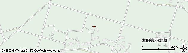 岩手県花巻市太田(第34地割)周辺の地図