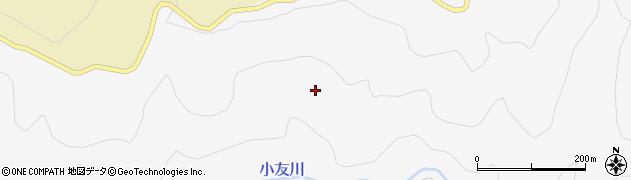 秋田県由利本荘市万願寺(福田沢)周辺の地図