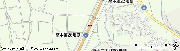 一般国道4号周辺の地図