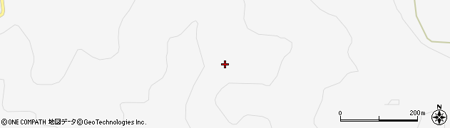 秋田県由利本荘市万願寺(福田山)周辺の地図