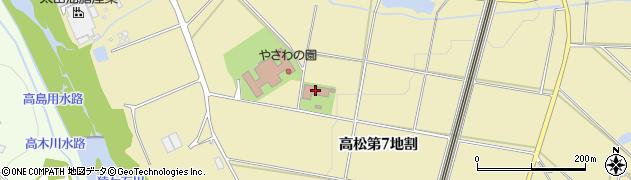 岩手県花巻市高松(第7地割)周辺の地図