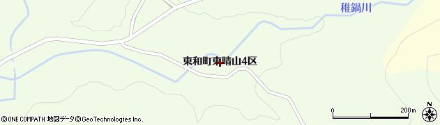 岩手県花巻市東和町東晴山(4区)周辺の地図