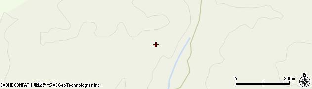 秋田県由利本荘市北ノ股(小間木森)周辺の地図