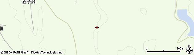 秋田県由利本荘市土谷(中日陰平)周辺の地図