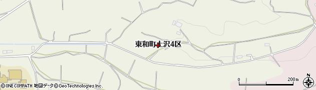 岩手県花巻市東和町土沢(4区)周辺の地図