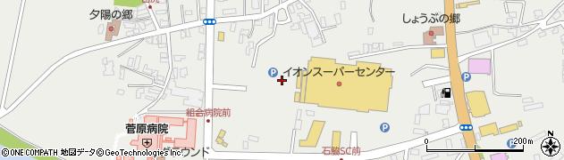 秋田県由利本荘市石脇(田中)周辺の地図