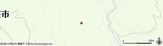 秋田県由利本荘市土谷(海老ノ口)周辺の地図