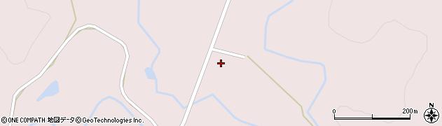 岩手県花巻市東和町新地周辺の地図