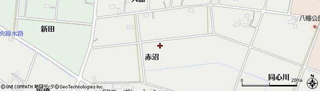 岩手県花巻市円万寺(赤沼)周辺の地図