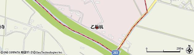 秋田県大仙市藤木(乙板杭)周辺の地図