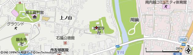 長禅寺周辺の地図