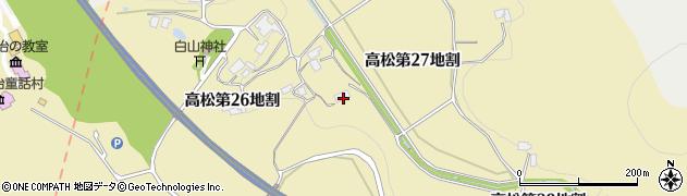 岩手県花巻市高松(第27地割)周辺の地図