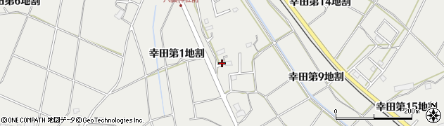 岩手県花巻市幸田(第13地割)周辺の地図