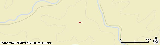 秋田県由利本荘市福山(糸滝)周辺の地図