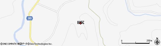 秋田県大仙市南外(田尻)周辺の地図
