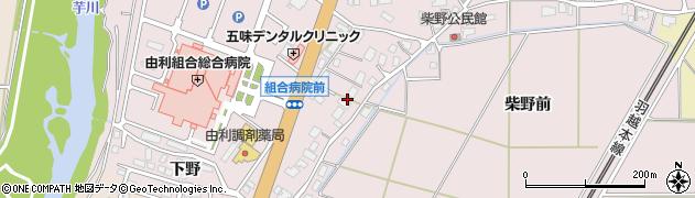 秋田県由利本荘市川口(家ノ後)周辺の地図