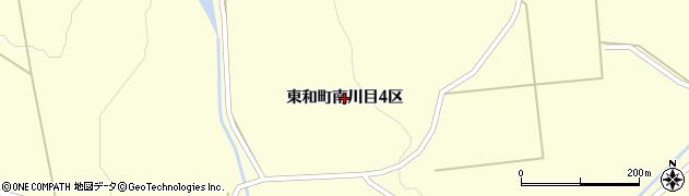 岩手県花巻市東和町南川目周辺の地図