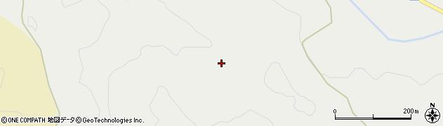 秋田県由利本荘市赤田(鍋森)周辺の地図