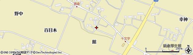 岩手県花巻市鍋倉(館)周辺の地図