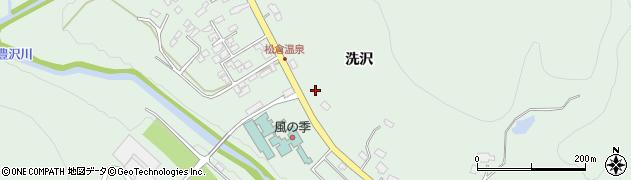岩手県花巻市湯口周辺の地図