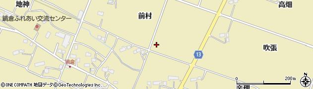 岩手県花巻市鍋倉周辺の地図