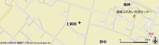 岩手県花巻市鍋倉(上新田)周辺の地図