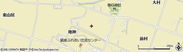 岩手県花巻市鍋倉(地神)周辺の地図