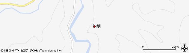 秋田県大仙市南外(一ト刎)周辺の地図