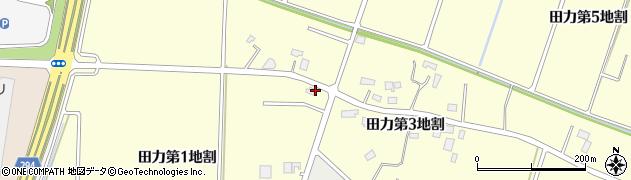 岩手県花巻市田力(第1地割)周辺の地図