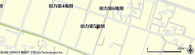 岩手県花巻市田力(第5地割)周辺の地図