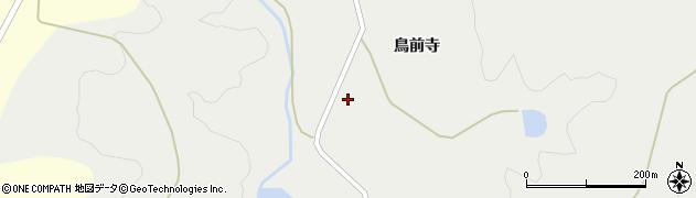 秋田県由利本荘市赤田(八森)周辺の地図