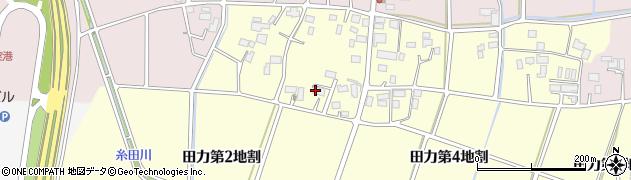 岩手県花巻市田力(第2地割)周辺の地図