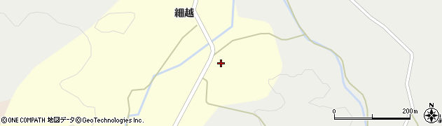 秋田県由利本荘市山田(森合)周辺の地図